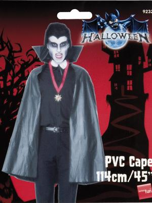 Halloween Black Pvc Cape Thumbnail 2