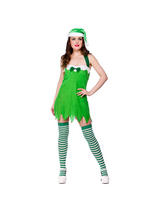 Ladies One size Sexy Elf Christmas Costume