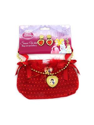 Child Princess Snow White Bag And Jewellery