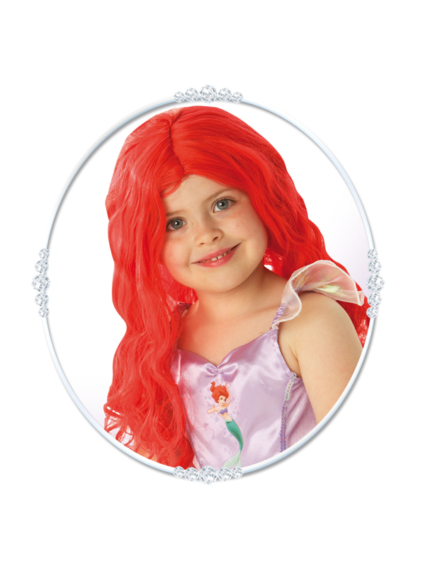 Child Princess Ariel Wig