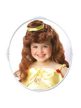 Child Princess Belle Auburn Wig Headwear