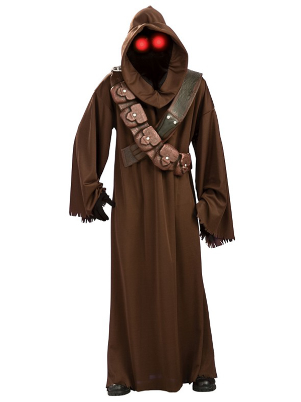 Sentinel Adult Mens Official Star Wars Jawa Light Up Outfit Fancy Dress Costume Jedi Robe  sc 1 st  eBay & Adult Mens Official Star Wars Jawa Light Up Outfit Fancy Dress ...