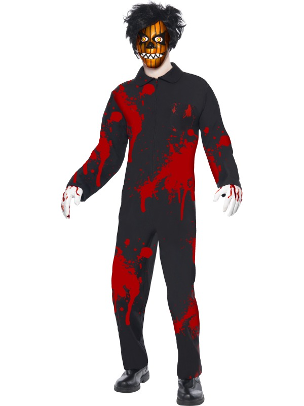Living Dead Dolls Adult Men's Pumpkin Boy Costume