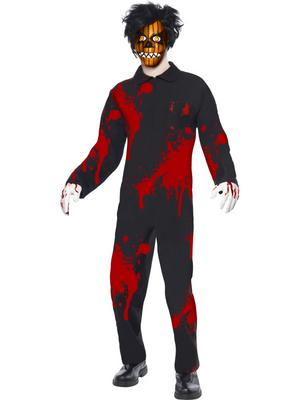 Living Dead Dolls Adult Men's Pumpkin Boy Costume Thumbnail 1
