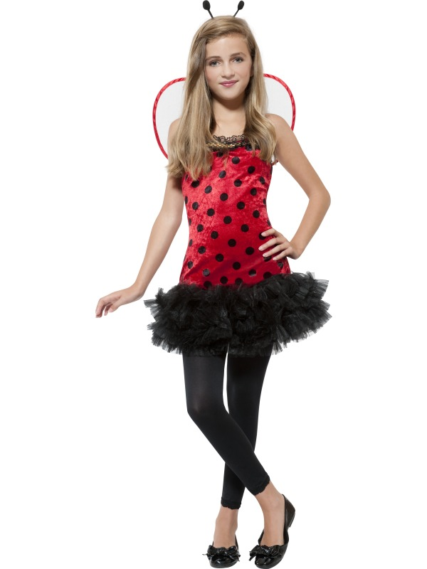 teen miss ladybird costume extra small animals insects plymouth fancy dress costumes and. Black Bedroom Furniture Sets. Home Design Ideas