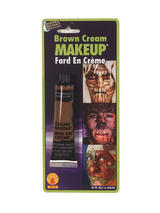 Cream Make-up, Assorted Colours. Brown