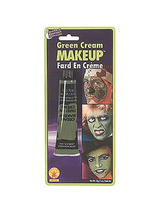 Cream Make-up, Assorted Colours. Green