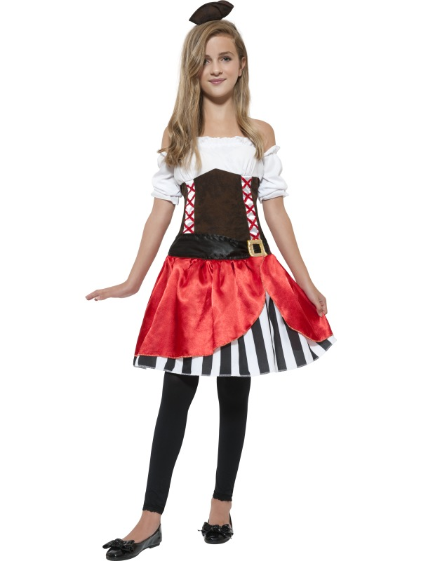 teen miss pirate costume extra small pirates plymouth fancy dress costumes and accessories. Black Bedroom Furniture Sets. Home Design Ideas