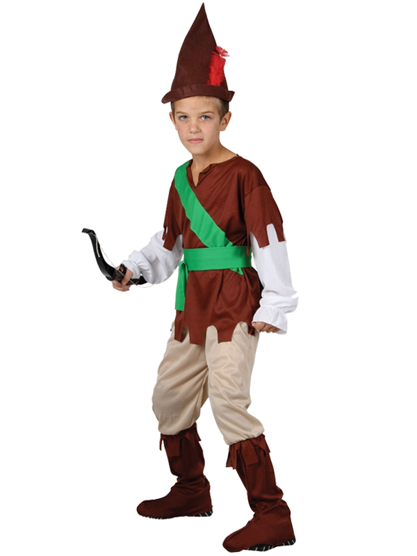 Boys-Robin-Hood-Costume-World-Book-Day-Week-  sc 1 st  eBay & Boys Robin Hood Costume World Book Day Week Fancy Dress Medieval ...