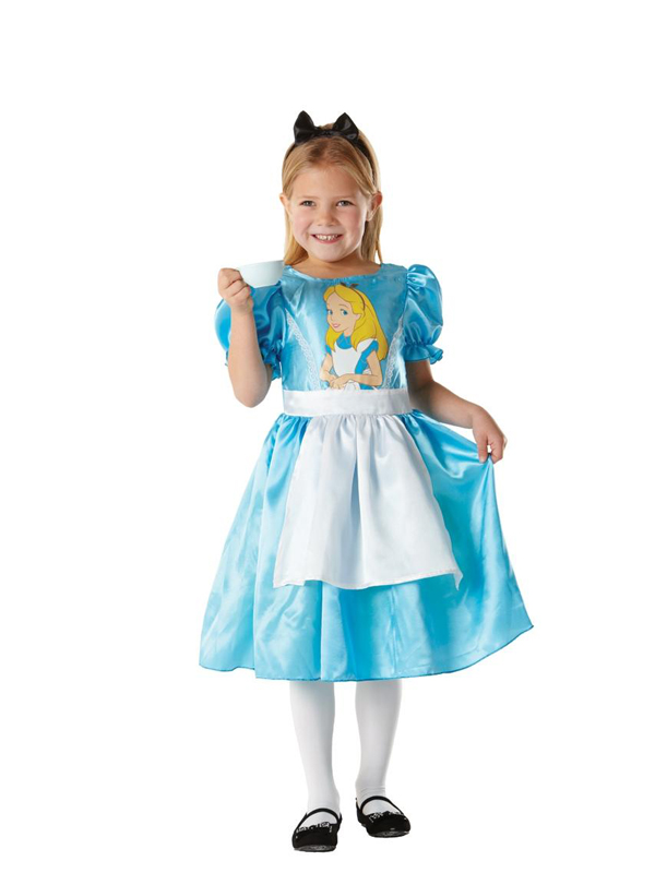 Sentinel Child Licensed Disney Alice in Wonderland Fancy Dress Costume Kids Girls BN  sc 1 st  eBay & Child Licensed Disney Alice in Wonderland Fancy Dress Costume Kids ...