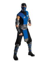 Mortal Kombat Sub Zero Deluxe Men's Costume