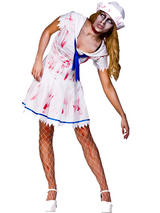 Ladies Sailor Zombie Girl Costume