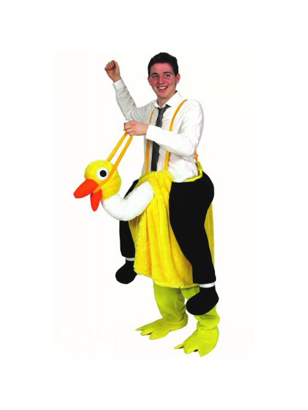 David Brent Crazy Ostrich Costume