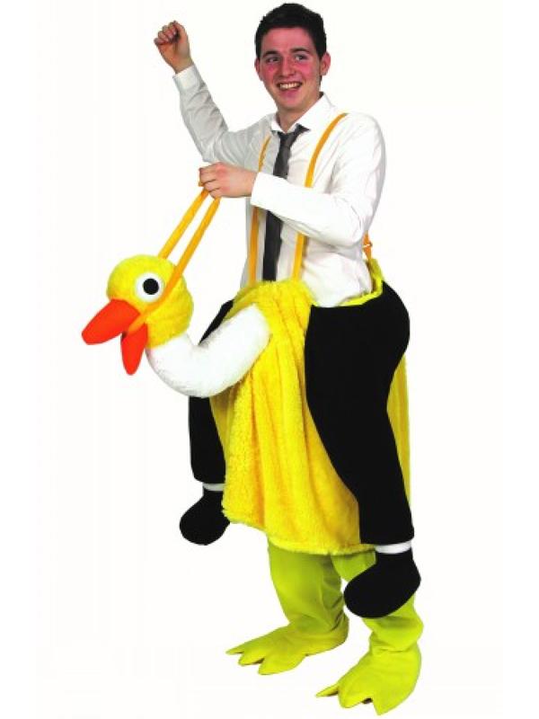 David Brent Crazy Ostrich Costume