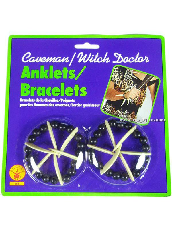 Caveman Witch Doctor Anklets Bracelets