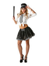 Policewoman Tutu Set Ladies Costume
