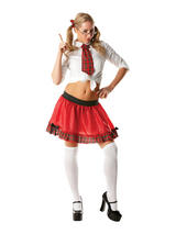 Schoolgirl Tutu Set Ladies Costume
