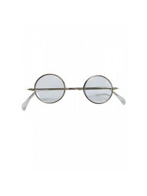 Red Xmas Round Santa Eye Glasses