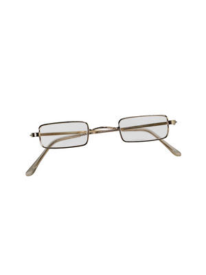 Red Xmas Square Santa Eye Glasses