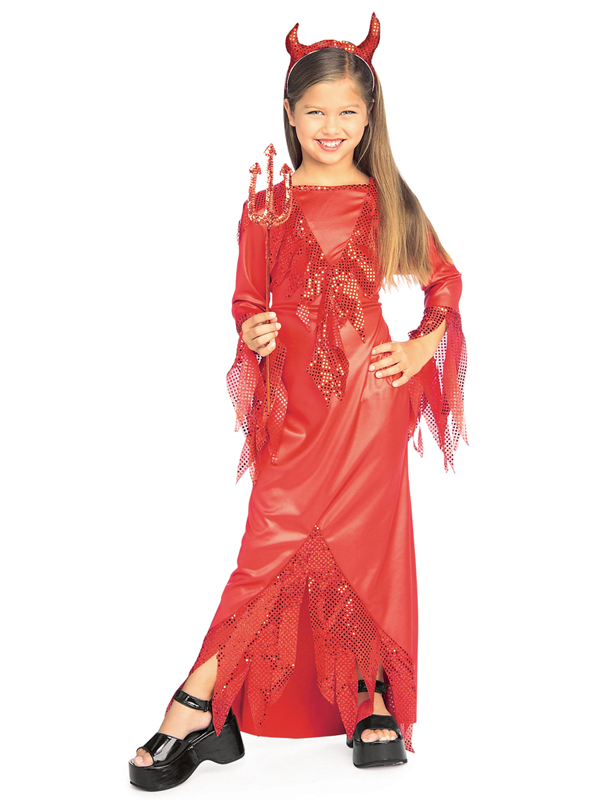 Child Devilish Diva Costume