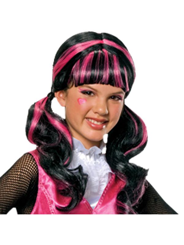 Girl's Monster High Draculaura Wig