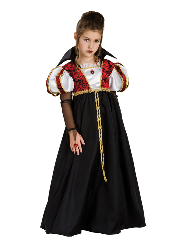 Girls Royal Vampire Costume