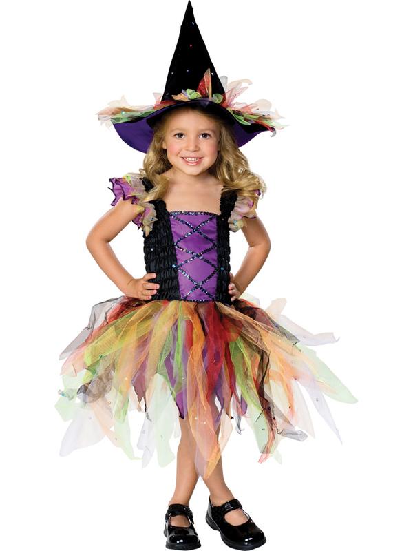 Child Glitter Witch Costume