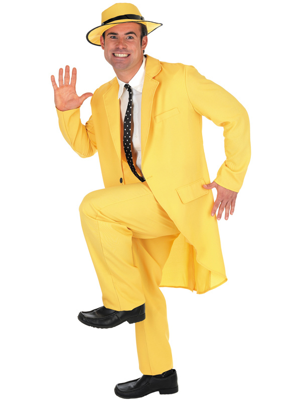 Men's The Mask Yellow Suit