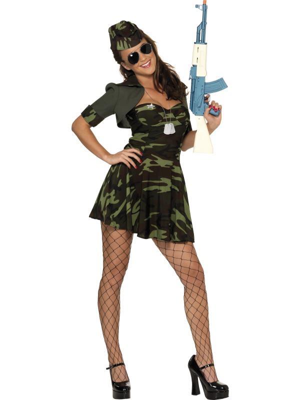 Military Babe Costume