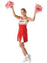 Glee Cheerleader Ladies Fancy Dress Costume