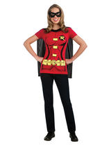 Ladies Robin T-shirt and Cape