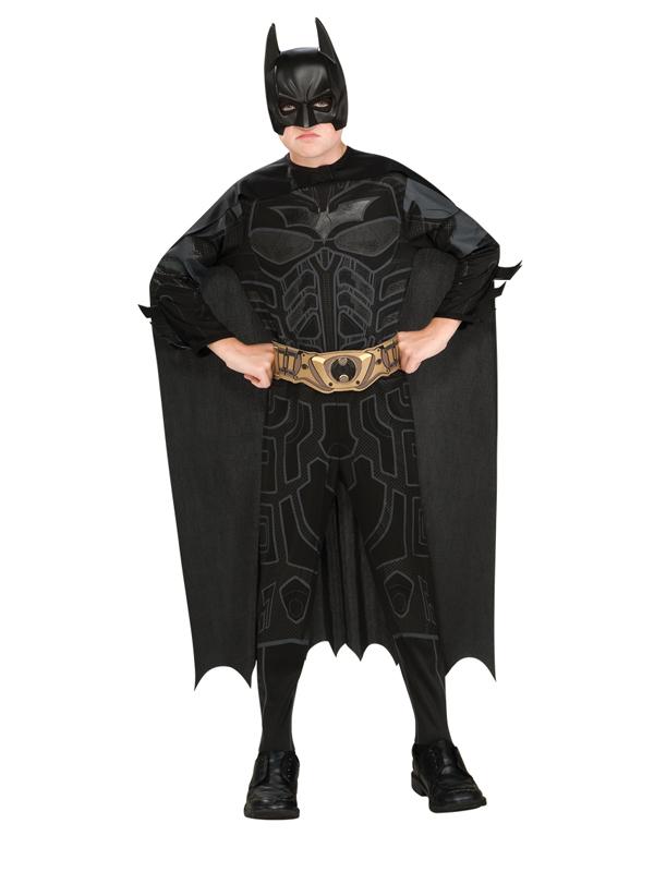 Sentinel Child Batman Dark Knight Rises Black Kids Boys Superhero Fancy Dress Costume BN  sc 1 st  eBay & Child Batman Dark Knight Rises Black Kids Boys Superhero Fancy Dress ...