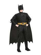 Child Batman With Muscle Chest Costume