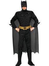 Batman Deluxe Dark Knight Men's Fancy Dress Costume