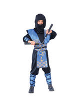 Boy's Ninja Fighter Costume