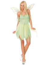 Ladies Tinker bell Fairy Costume