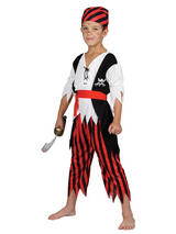 Boy's Shipwreck Pirate Costume