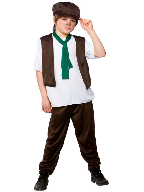 Child Victorian Poor Boy Costume