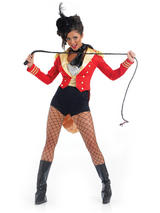 Ladies Lion Tamer Ringmaster Circus Costume