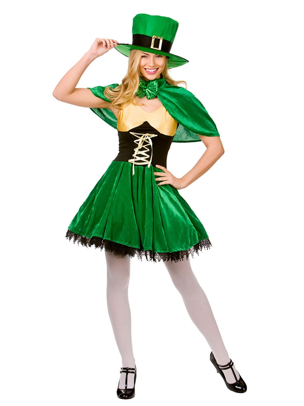 Ladies Lucky Leprechaun Costume