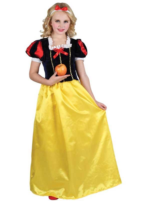 Girl's Deluxe Snow Princess Costume
