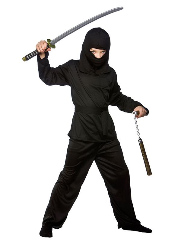 Popular Boy Toys Age 3 : Boy s black ninja costume plymouth fancy dress costumes