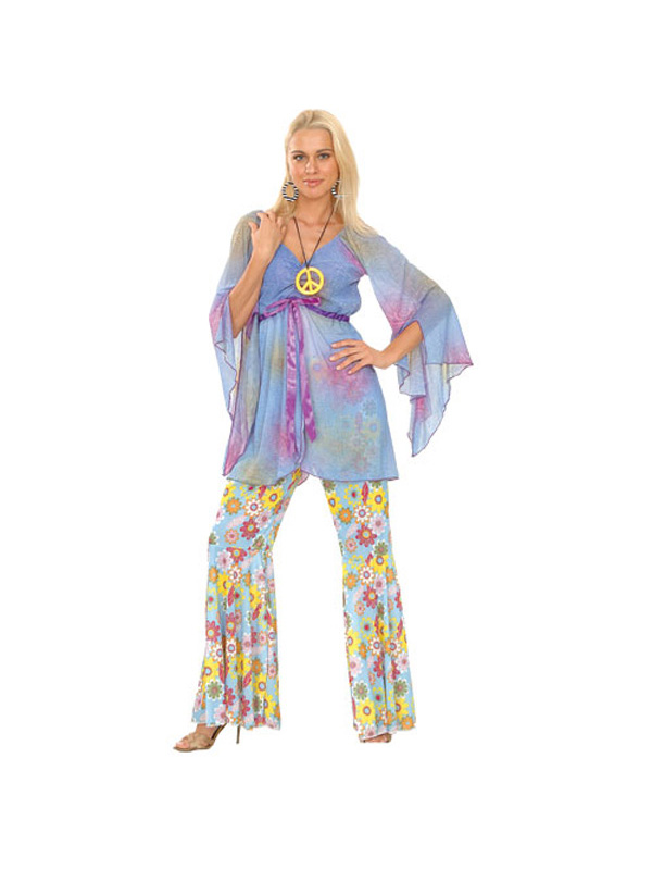 Ladies Woodstock Hippy Costume