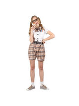 Ladies High School Nerd Costume