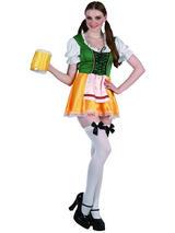 Ladies Sexy Bavarian Beer Girl Costume