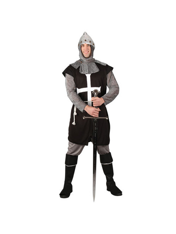 Men's Black Knight Costume