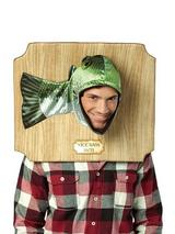 Adult's Fish Trophy Plaque Costume