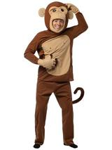 Adult's Cheeky Monkey Costume