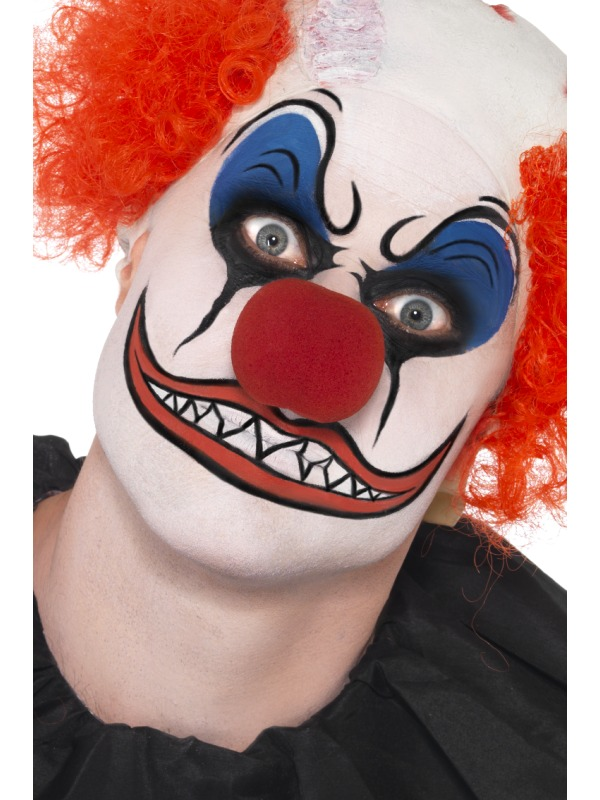 Adult Scary Clown Make Up Face Paints And Make Up Plymouth Fancy
