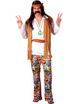Men's 1960s Woodstock Hippie Costume